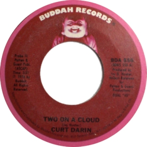 Curtis Gadson (1976) - Two On A Cloud (Buddah 556)