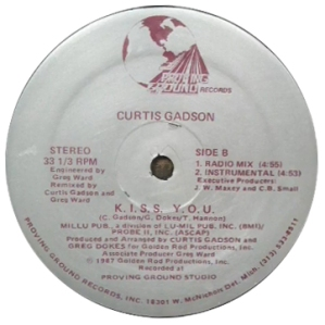 Curtis Gadson (1987) - K.I.S.S. Y.O.U. (Proving Ground PG-1002)